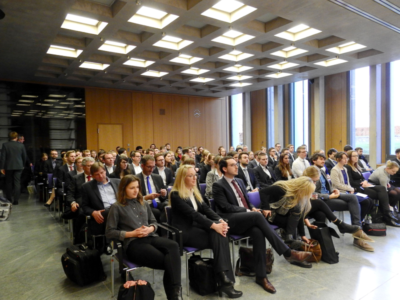 Impressions of the Moot Court competition, 2017/18