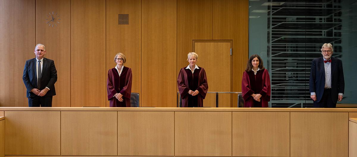 Beispielbild des Ersten Senats des Bundesarbeitsgerichts
