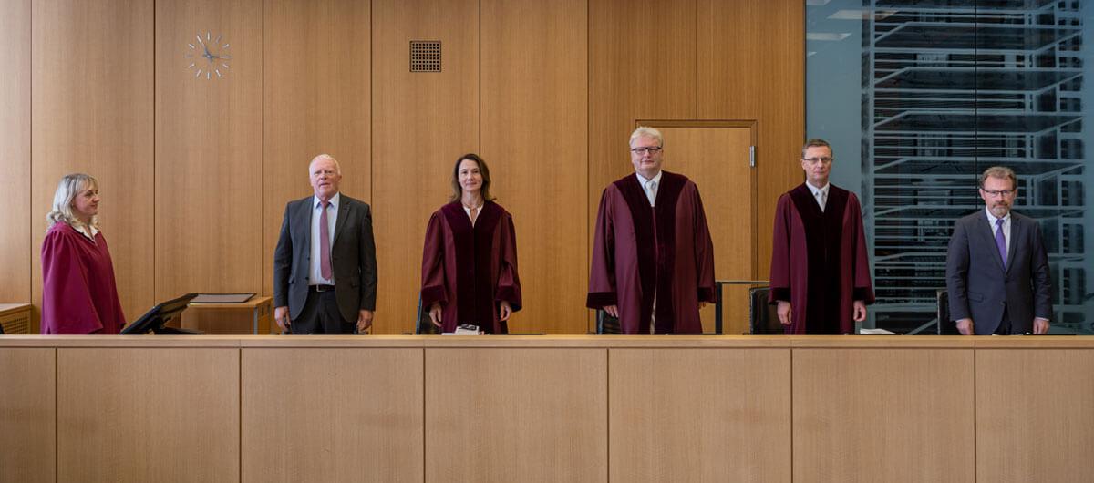 Beispielbild des Zweiten Senats des Bundesarbeitsgerichts