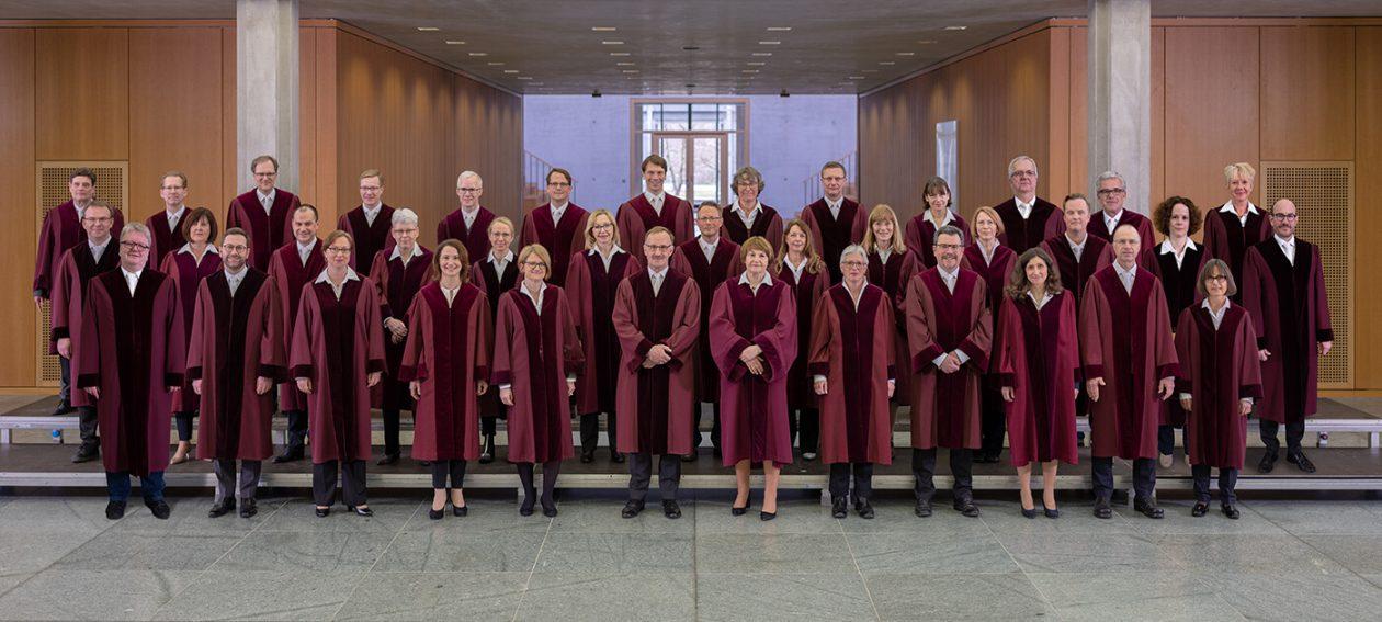 Die Richterinnen und Richter des Bundesarbeitsgerichts