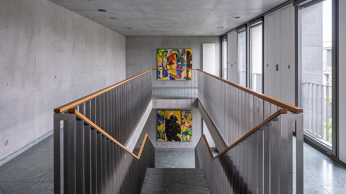 Treppenhaus des Bundesarbeitsgerichts