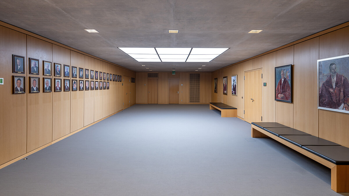 Foyer zu den Konferenzräumen im Bundesarbeitsgericht