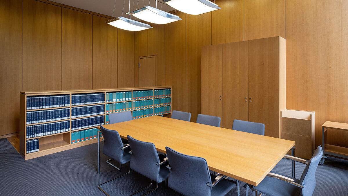 Beratungszimmer im Bundesarbeitsgericht