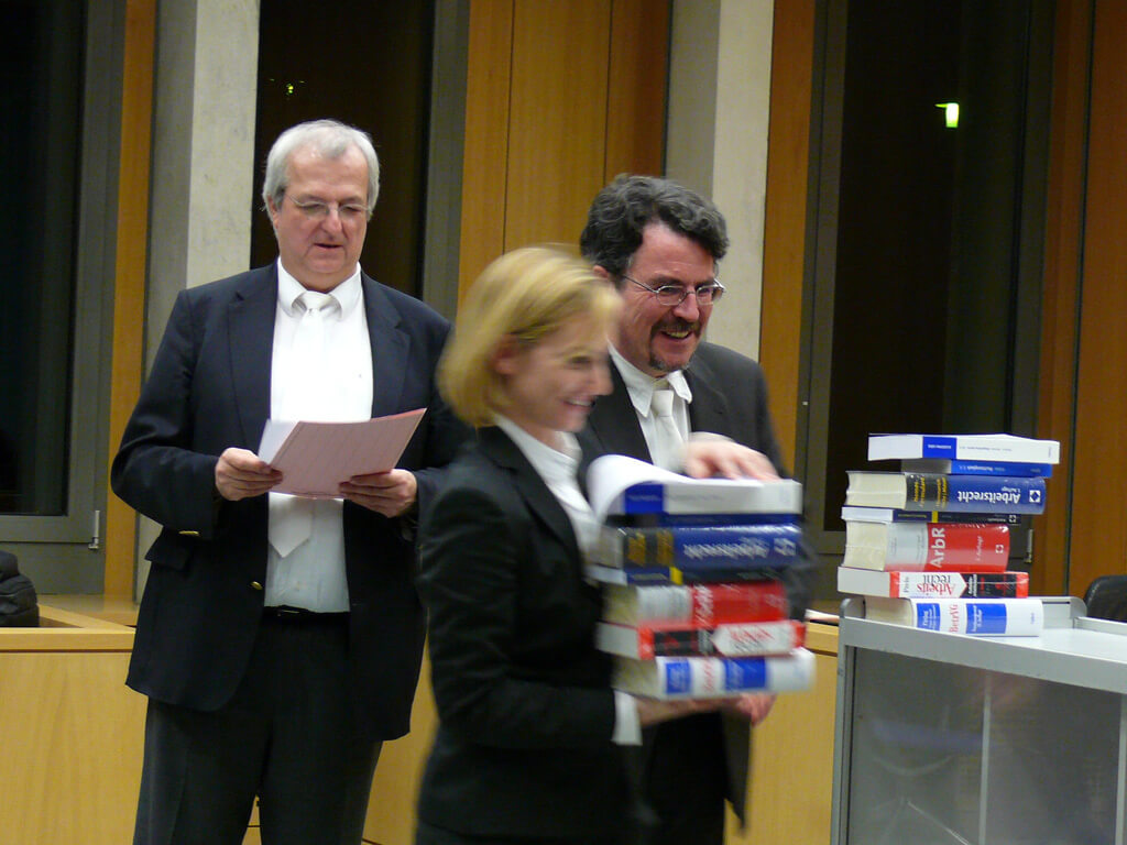 Impressions of the Moot Court competition, 2011/12