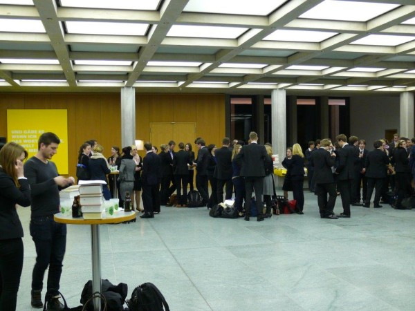 Impressions of the Moot Court competition, 2013/14