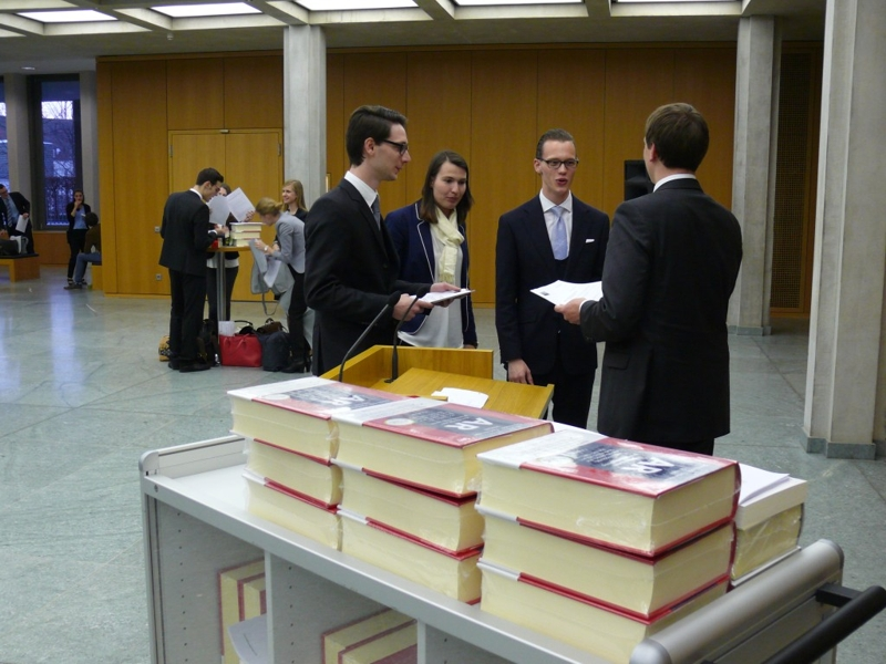 Impressions of the Moot Court competition, 2015/16