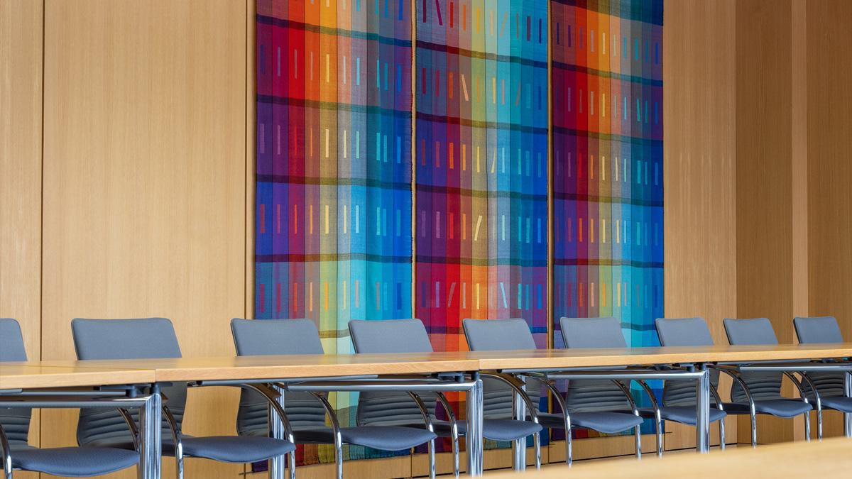 Konferenzraum im Bundesarbeitsgericht.